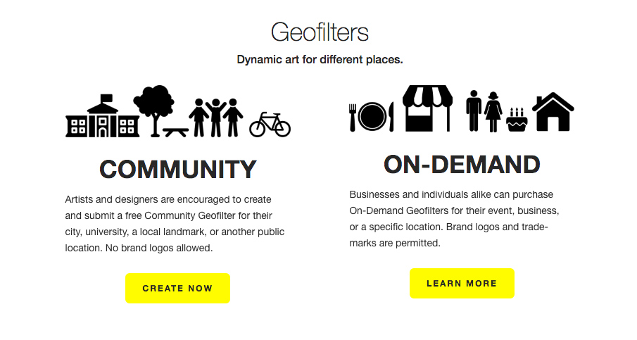 Snapchat GeoFilters - Community or On-Demand - Moving Mountains Advisors