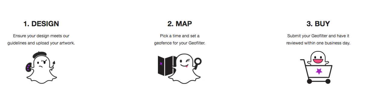 Snapchat Geofilters - 3 Steps - Moving Mountains Advisors