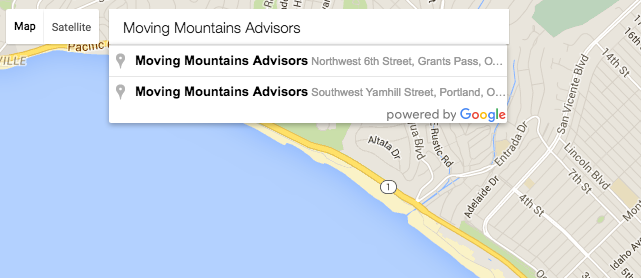 Snapchat Geofilters - Setting Your Location - Moving Mountains Advisors